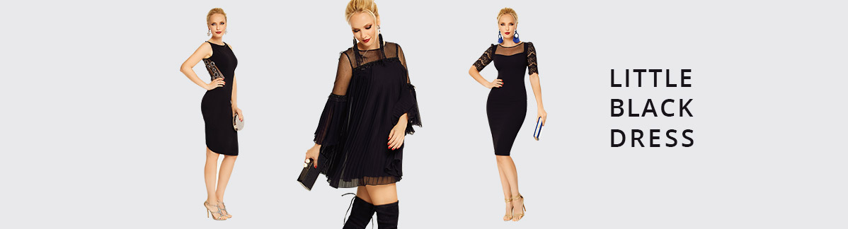 Little Black Dress - Articole Fofy, marimea L